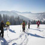 Randonnée en raquette à neige à Neuchâtel